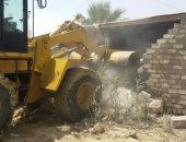 إزالة 11 حالة تعد على أملاك الدولة وضبط 25 هاربا من أحكام فى شمال سيناء