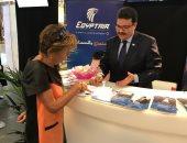 مصر للطيران تنظم 15 رحلة لعودة 2800 معتمر من الأراضي المقدسة