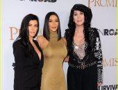 بالصور.. كيم كاردشيان وشقيقتها وشير فى العرض الخاص لفيلم The Promise