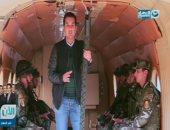 """بالفيديو.. مقدمة نارية لـ""""الدسوقى رشدى"""" عن سلاح المظلات المصرى"""
