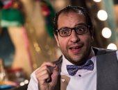 """أحمد أمين يتقمص شخصية ماجد الكدوانى فى فيلم """"هيبتنا من خلال """"البلاتوه"""""""