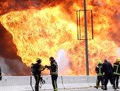 الصحة: 16 مصابا فى انفجار خط الغاز بالتجمع الخامس ولا وفيات