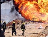مصرع وإصابة 8 أشخاص فى حريق بمخبز بالشرقية