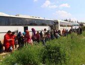 مركز المصالحة الروسى: أكثر من 500 شخص غادروا مخيم الركبان فى سوريا