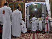 """بالصور.. كنائس الأقصر تشهد قداس """"عيد القيامة المجيد"""" بحضور جموع الأقباط"""