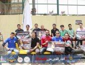 """بالصور.. حملة """"أنت أقوى من المخدرات"""" تصل جامعة عين شمس لتوعية 3500 طالب"""