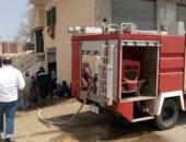 فيديو .. لحظة نشوب حريق بمخزن مستشفى فى الجيزة