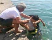 مصرع طفل غرقا فى ترعة قرية البهسمون بمحافظة بنى سويف