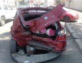 مصرع ربة منزل وإصابة 4 أشخاص صدمتهم سيارة يقودها طفل بكرداسة
