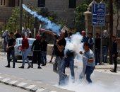 بالصور.. اشتباكات عنيفة بين قوات الاحتلال ومتظاهرين بالضفة الغربية