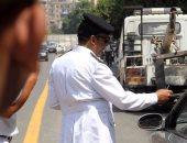 """""""المرور"""": انتهاء أعمال مد كابل كهرباء فى مصر الجديدة وسط انتشار الخدمات"""
