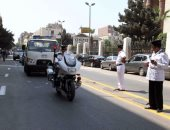 """""""المرور"""" تتصدى للفوضى وتحرر 348 مخالفة متنوعة بـ6 أكتوبر"""