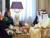 بالصور.. رئيسة مجلس الاتحاد الروسى ترتدى الحجاب خلال زيارتها للسعودية