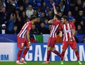 شاهد.. أتلتيكو مدريد يتأهل لنصف نهائى دورى الأبطال على حساب ليستر سيتى