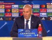 زيدان: ريال مدريد لا يستحق الخسارة وميسي صنع الفارق