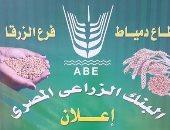 البنك الزراعى بدمياط يعلن أسعار توريد القمح لعام 2017
