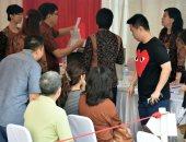 بالصور.. التصويت فى الجولة الثانية من انتخابات حاكم جاكرتا