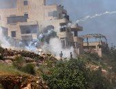 بالصور.. إسرائيل تصيب عشرات الطلاب الفلسطينيين فى تظاهرة منددة بأوضاع الأسرى