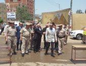 بالصور .. مساعد وزير الداخلية ومدير الأمن يتفقدون لجان الانتخابات بالمنوفية