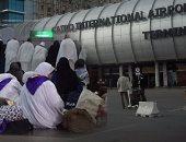 مطار القاهرة يرفع درجة الاستعداد فى كافة القطاعات تزامنا مع عودة الحجاج