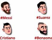 احتفال مميز من تويتر بمباراة الكلاسيكو بين ريال مدريد وبرشلونة