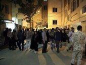 """قوات مكافحة الشغب بمحيط منزل """"نجاد"""" تحسبا لأعمال عنف بعد استبعاده من الانتخابات"""