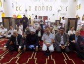 بالصور.. افتتاح مسجد الشهيد ياسر الحديدى بمدينة الطور بسيناء