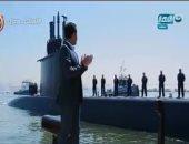 بالفيديو..الدسوقى رشدى من داخل القوات البحرية لحظة وصول الغواصة الألمانية