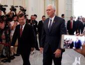 بالصور..نائب الرئيس الأمريكى يعلن اتفاقات بقيمة 10 مليار دولار فى إندونيسيا