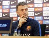 إنريكى: الديربى أمام إسبانيول أصعب مباراة لبرشلونة فى الدورى الإسبانى