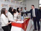 أشرف منصور يفتتح ملتقى التوظيف الثانى عشر بالجامعة الألمانية بمشاركة 109 شركة