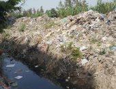 بالصور.. شكوى من تراكم القمامة بجرين بلازا بالإسكندرية