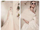 بالصور.. 13 قطعة فنية لإيلى صعب باسبوع فساتين الزفاف فى نيويورك