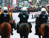 إصابة شرطيين وتوقيف 100 متظاهر فى احتجاجات ضد مؤتمر لحزب البديل لألمانيا