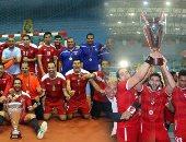"""تونس """"بوابة"""" بطولات الأهلي فى ألعاب الصالات"""