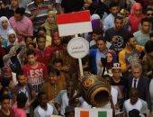 انتصار عبد الفتاح: الفرق المشاركة فى مهرجان الطبول دليل التعدد الثقافى