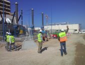 بالفيديو والصور.. استعداد محطة البرلس لضخ 800 ميجاوات بشبكة كهرباء مصر