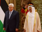 """الرئيس الفلسطينى يمنح ولى العهد الكويتى قلادة """"الكنعانيين الكبرى"""""""