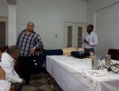 ورشة عمل للحالات الحرجة والعاجلة بمستشفى كفر سعد بدمياط