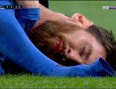 الكلاسيكو.. ريال مدريد يتقدم فى الدقيقة 28.. وميسي ينزف بسبب مارسيلو