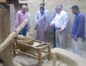 محافظ الوادى الجديد يوجه بإعداد فيلم وثائقى حول تراث قرية القصر الإسلامية
