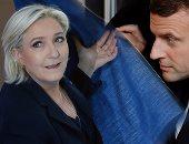 مناظرة تلفزيونية بين مارين لوبن وإيمانويل ماكرون فى الثالث من مايو