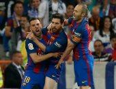تعرف على المواجهات المتبقية لحسم صراع ريال مدريد وبرشلونة فى الليجا
