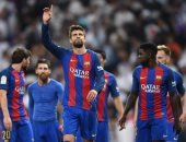 بيكيه: ريال مدريد معتاد على الحكام المتساهلين فى البرنابيو
