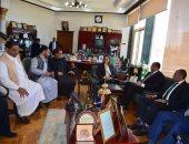 وصول وزيرى التخطيط والتضامن للعلمين لافتتاح معهد دينى ووحدة صحية