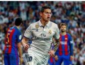 نجم ريال مدريد يكشف سر طريقة احتفاله بهدف الكلاسيكو