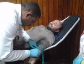 بالصور.. الجالية الأرمينية بمصر تتبرع بالدم للهلال الأحمر فى ذكرى مذابح الأرمن