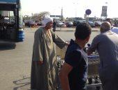 مطار القاهرة يقرر وقف تحصيل 10 جنيهات رسوم عربات الحقائب الصغيرة
