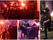 فرنسيون غاضبون من نتائج الانتخابات.. اشتباكات المحتجين مع الشرطة الفرنسية