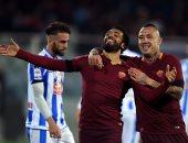 صحف إيطاليا تختار محمد صلاح أفضل لاعبى روما أمام بيسكارا